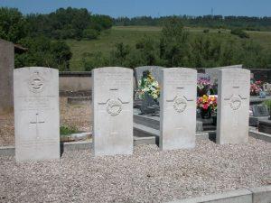 tombes du cimetière
