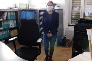 Nouvelle secrétaire